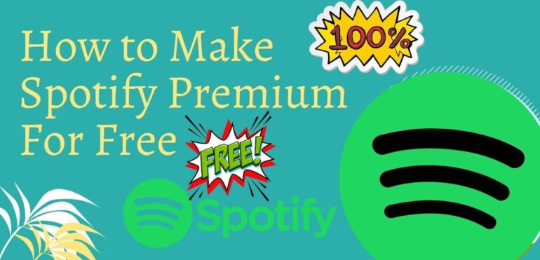 How to make spotify premium account free